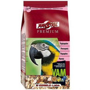 Krmivo pre veľké papagáje Prestige Premium Parrots 2,5kg