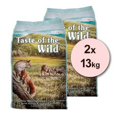 TASTE OF THE WILD Appalachian Valley 2 x 13kg
