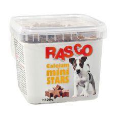 Pamlsky RASCO - mini hviezdičky kalciové, 600g