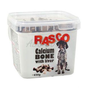 Pamlsky RASCO - kosť kalciová s pečeňou, 650g