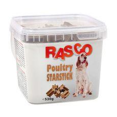 Pamlsky RASCO - starstick hydinové, 530g