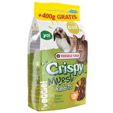 Crispy Muesli Rabbits 2,75kg + 400g GRATIS - krmivo pre králikov