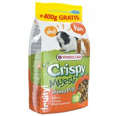 Crispy Muesli - krmivo pre morčatá 2,75kg + 400g GRATIS