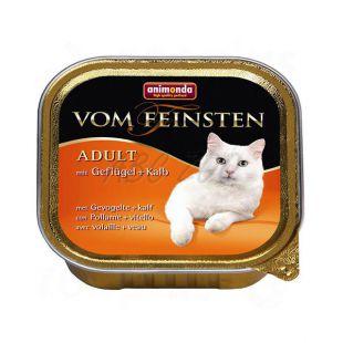 Animonda Vom Feinsten Adult Cats - s hydinou a teľacím 100g