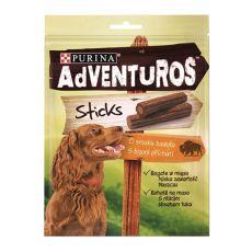 Purina ADVENTUROS Sticks - bizón 4ks, 120g