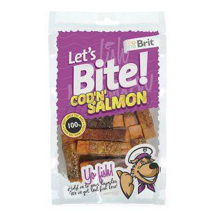 "Pamlsky BRIT Lets Bite - Cod ""N"" Salmon, 80g"