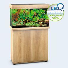 Set JUWEL akvárium RIO LED 125 svetlo hnedý + skrinka
