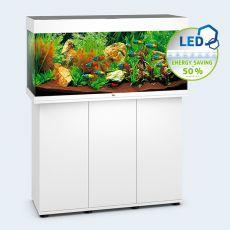 Set JUWEL akvárium RIO LED 180 biely + skrinka