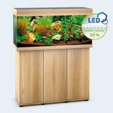 Set JUWEL akvárium RIO LED 180 svetlo hnedý + skrinka