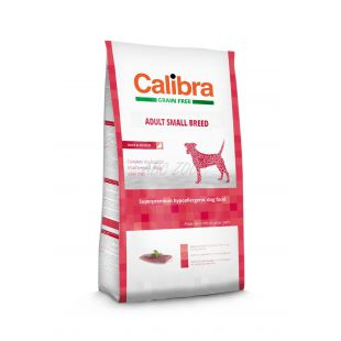 CALIBRA Dog GF Adult Small Breed Duck 2kg