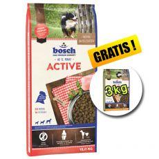 Bosch ACTIVE 15 kg + 3kg Adult Hydina + Proso ZADARMO