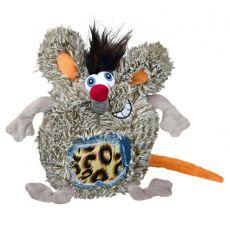 Hračka pre psa - plyšový potkan, 17 cm