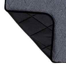 Termo podložka pre psa, sivá - 70x50cm