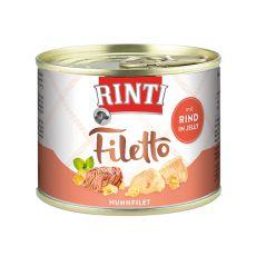 Rinti Filetto - kuracie a hovädzie mäso v želé, 210g