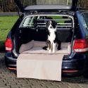 Pelech do auta, hnedo-béžový - 95 x 75 cm