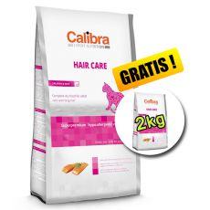 CALIBRA Cat EN Hair Care Salmon 7kg + 2kg ZDARMA