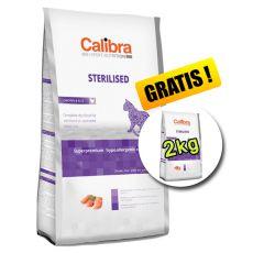 CALIBRA Cat EN Sterilised Chicken 7kg + 2kg ZDARMA