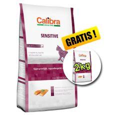CALIBRA Cat GF Sensitive Salmon 7kg + 2kg ZDARMA
