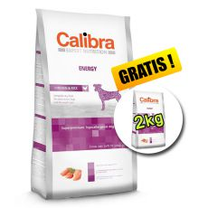 CALIBRA Dog EN Energy 12kg + 2kg ZDARMA