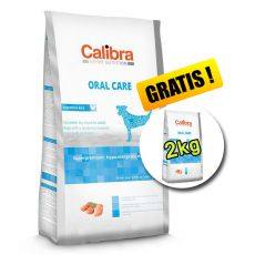 CALIBRA Dog EN Oral Care 7kg + 2kg ZDARMA