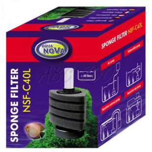 Molitanový filter NSF-C40L - rohový
