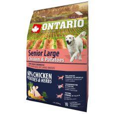 ONTARIO Senior Large - chicken & potatoes 2,25kg
