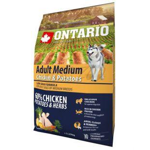 ONTARIO Adult Medium - chicken & potatoes 2,25kg
