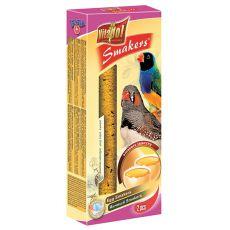 Vitapol Smakers tyčinky pre zebričky - vaječné, 2 ks