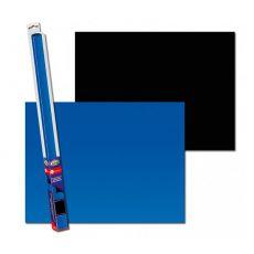 Pozadie do akvária BLACK/BLUE L - 100 x 50cm