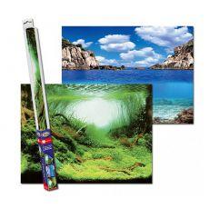 Pozadie do akvária PLANTS/OCEANS L - 100 x 50cm