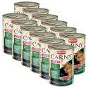 Krmivo CARNY ADULT hovädzie, srnec a brusnice - 12 x 400 g