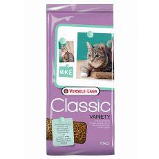 Krmivo pre mačky Versele Laga Classic Variety, 10kg