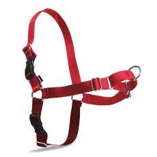 Postroj proti ťahaniu EasyWalk Harness - XL, červený