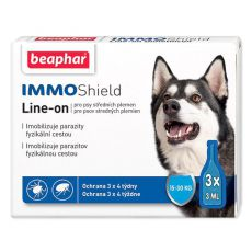 "BEAPHAR IMMO SHIELD PES ""M"" 3 x 3ml"