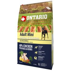 ONTARIO Adult Mini - chicken and potatoes 0,75kg
