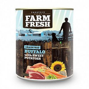 Farm Fresh - Buffalo with Sweet Potatoes 800g