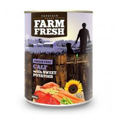 Farm Fresh - Calf with Sweet Potatoes 400g