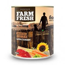 Farm Fresh - Horse with Carrot 800g
