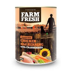 Farm Fresh - Chicken and Herring with Cranberries 400g
