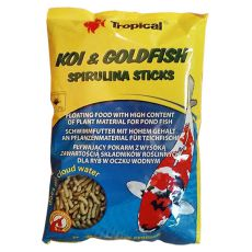 TROPICAL Koi & Goldfish spirulina sticks 1l/90g