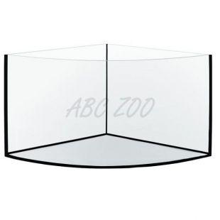 Akvarium rohové 57x57x40cm / 70L