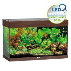 Akvárium JUWEL Rio LED 125 - tmavo hnedé