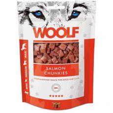 WOOLF Salmon Chunkies 100g