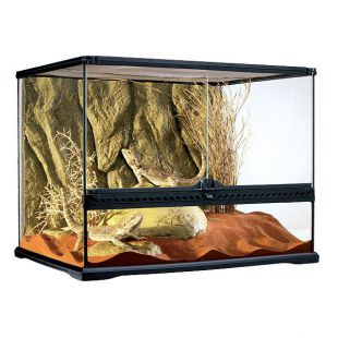 Exoterra sklenené Terárium  60 x 45 x 45 cm