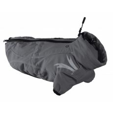 Softšelová bunda HURTTA Frost jacket - šedá, MEDIUM 50cm