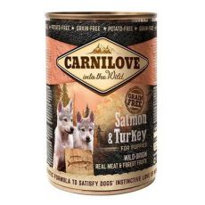 BRIT Carnilove Wild Meat Salmon & Turkey for Puppies 400g