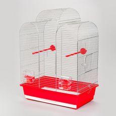 Klietka pre papagaje IZA I chrom - 45 x 28 x 61,5cm