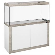 Akvárium so skrinkou FINE LINE 100x50cm LED 24W bielo-hľuzovkové