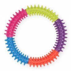 TPR Dental hračka pre psa s výstupkami - kruh, 15cm