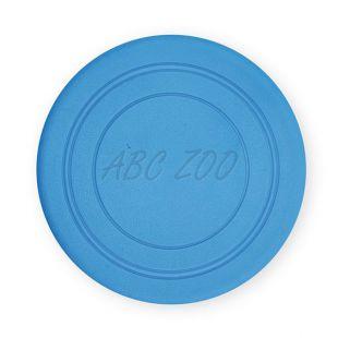 TPR Lietajúci tanier pre psov z gumy -  modrý, 18cm